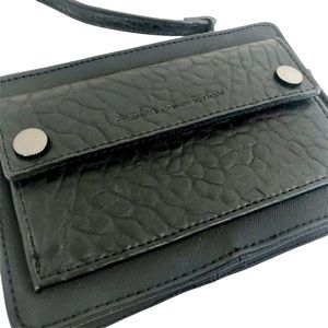 French Connection Black Sleek Crossbody Purse